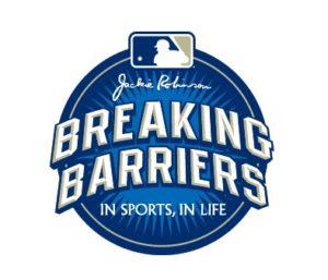mlb breaking barriers logo