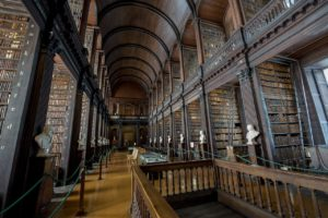 trinity college library research