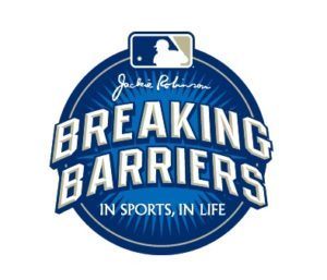 mlb breaking barriers logo