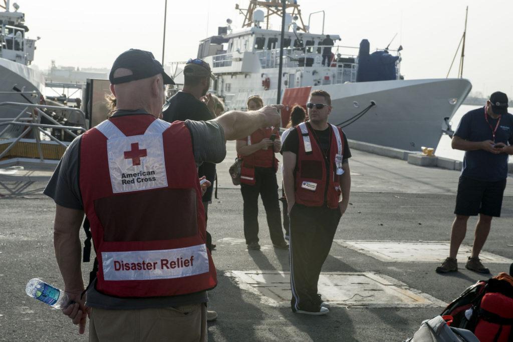 red cross relief