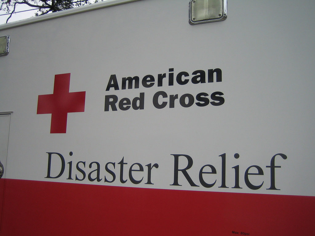 red cross relief